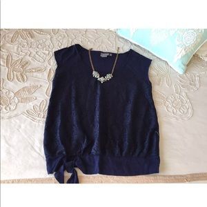 Anthropologie L Vanessa Virginia lace blouse top
